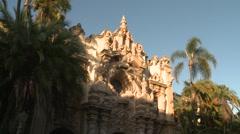 San Diego USA Balboa Park  Casa Del Prado 214 1461 01 Stock Footage