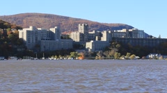 West Point in Fall (HD) co - stock footage