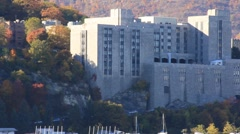 United States Military Academy at West Point (HD) k - stock footage