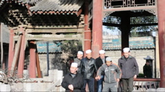 Muslims to to Pray in china Stock Footage