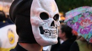Halloween Mask Stock Footage