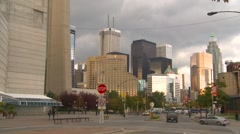 Toronto skyline, no CN tower - stock footage