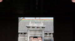 Chinese temple Stock Footage