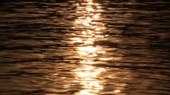 Sun glints Stock Footage