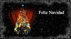 Christmas Card - Christmas 30 (HD) - Spanish Stock Footage