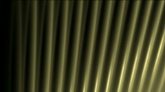 Abstract metal wire line pipes,fiber machine probe background,music rhythm. Stock Footage