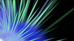 Rotation ray light in space,The birth of stars,explosion.particle,Design,pattern Stock Footage