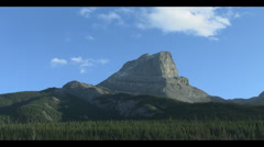 Canadian Rocky Mountains-National Park Stock Footage