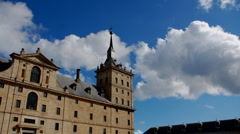 Madrid. Monasterio del Escorial Stock Footage