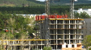 HD Timelapse of the construction site Stock Footage