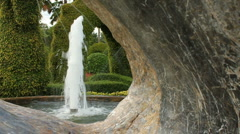 Fountain Stone - stock footage