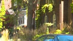 Toronto neighbourhood - Forest Hill, zoom Stock Footage
