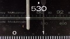 radio dial01 - stock footage