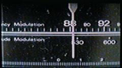 Radio dial03 Stock Footage