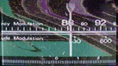 radio dial04 - stock footage