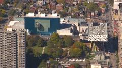 Aerial, OCAD University, Toronto Stock Footage