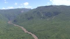 sumidero canyon - stock footage