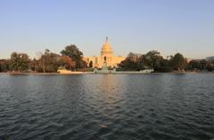 Capitol Building Timelapse Day / Night Washington DC - stock footage