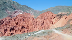 Humahuaca Valley Stock Footage