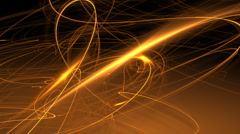 Glowing orange lines motion background d2914 Stock Footage