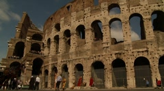 Colloseum, Rome Stock Footage