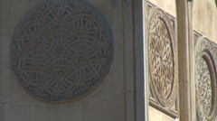 Architecture detail Stock Footage