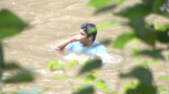 Jungle river Stock Footage