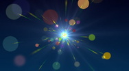 Multicolored Particles PAL Stock Footage
