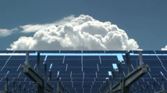 Solar Power Sky  - stock footage