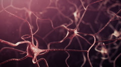 Neuron network Stock Footage