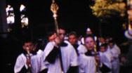 First Communion, circa 1954 Stock Footage