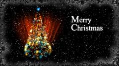 Christmas Card - Christmas 30 (HD) - English Stock Footage