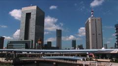 Odaiba - Tokyo Bay 6 Stock Footage