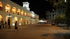 Salta at Night Stock Footage