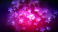 Out of focus stars Stock Footage
