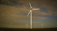 Stock Video Footage of Wind Turbine 002