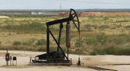 Stock Video Footage of Oil pump jack 001