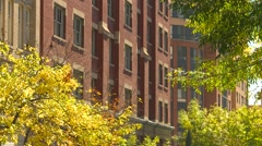 Toronto St Lawrence market neighborhood, old buildings - stock footage