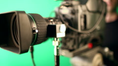 Broadcast HD Video Camera - stock footage