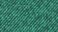 Looping abstract threads motion background - stock footage