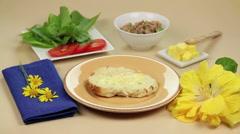 Tuna Sandwich Master Stock Footage