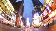 Stock Video Footage of times square night01