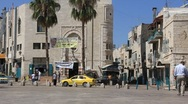 The town of Bethlehem in the land of Judea Stock Footage