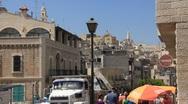 Holy Land. Bethlehem. Israel Stock Footage