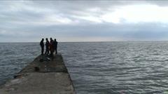 Fishermen  Stock Footage