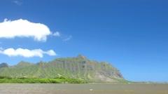 Kualoa Mtn. Range Stock Footage