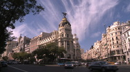 Stock Video Footage of Madrid