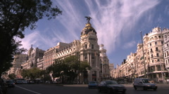 Madrid Stock Footage