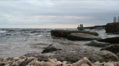 Coast - stock footage