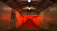 Scary Tunnel 01 Stock Footage